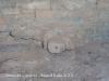 Tines del Candela - Detall - La pedra de la boixa, o simplement la boixa. Es feia servir per poder buidar la tina.