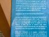 Tines del Tosques - Plafó informatiu - Detall.