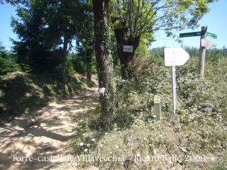Camí al castell de Villavecchia