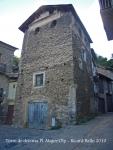 Torre de defensa de la plaça Major d'Olp