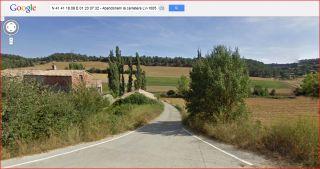 Torre de Ferragut - Itinerari - Captura de pantalla de Google Maps.