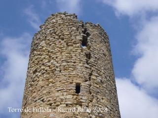 Creiem que aquesta escletxa amenaça seriosament la continuïtat de la torre.