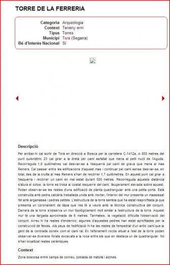 Torre de la Ferreria-Pat.mapa-Captura de pantalla