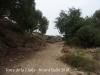 Torre de la Llotja – Tortosa - Darrera part del camí d'accés