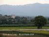 Vistes des de la Torre de la Llotja – Tortosa. Si no anem errats, la torre que apareix a la fotografia, és la Torre de la Carrova  (Montsià)