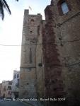Torre de l'església vella -Mont-Roig del Camp