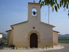 Lletger: Església de Sant Andreu i Santa Marina.