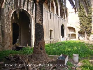 Torre de Mas Sorder - Pati