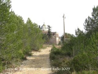 Torre de Mas Sorder - Camí d'accés