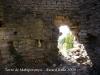 Torre de Mataperunya. Actual porta d\'accés a l\'edificació.