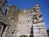 Torre de Mataperunya.Part superior. Vegi's el gran nombre d'espitlleres.