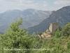 La Torre de Mataperunya quan ja l\'hem deixada enrere, camí del castell d\'Orenga.