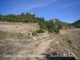 De camí a la Torre de Mataperunya primer i al castell d'Orenga després.