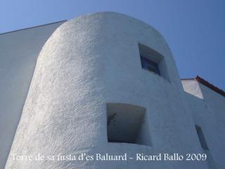 Torre de sa fusta d'es Baluard - Observi's el gruix de les parets..