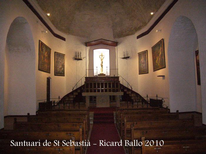Santuari de Sant Sebastià.