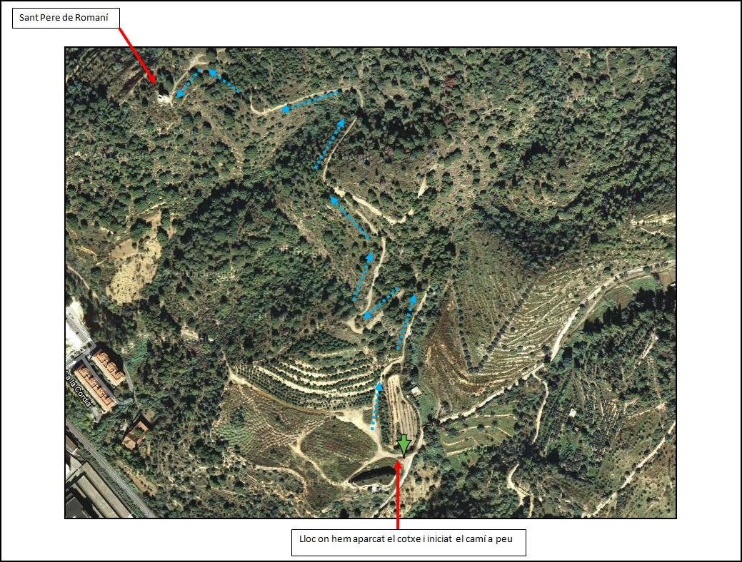torre-de-telegrafia-optica-capella-de-sant-pere-de-romani-itinerari-mapa-google-2