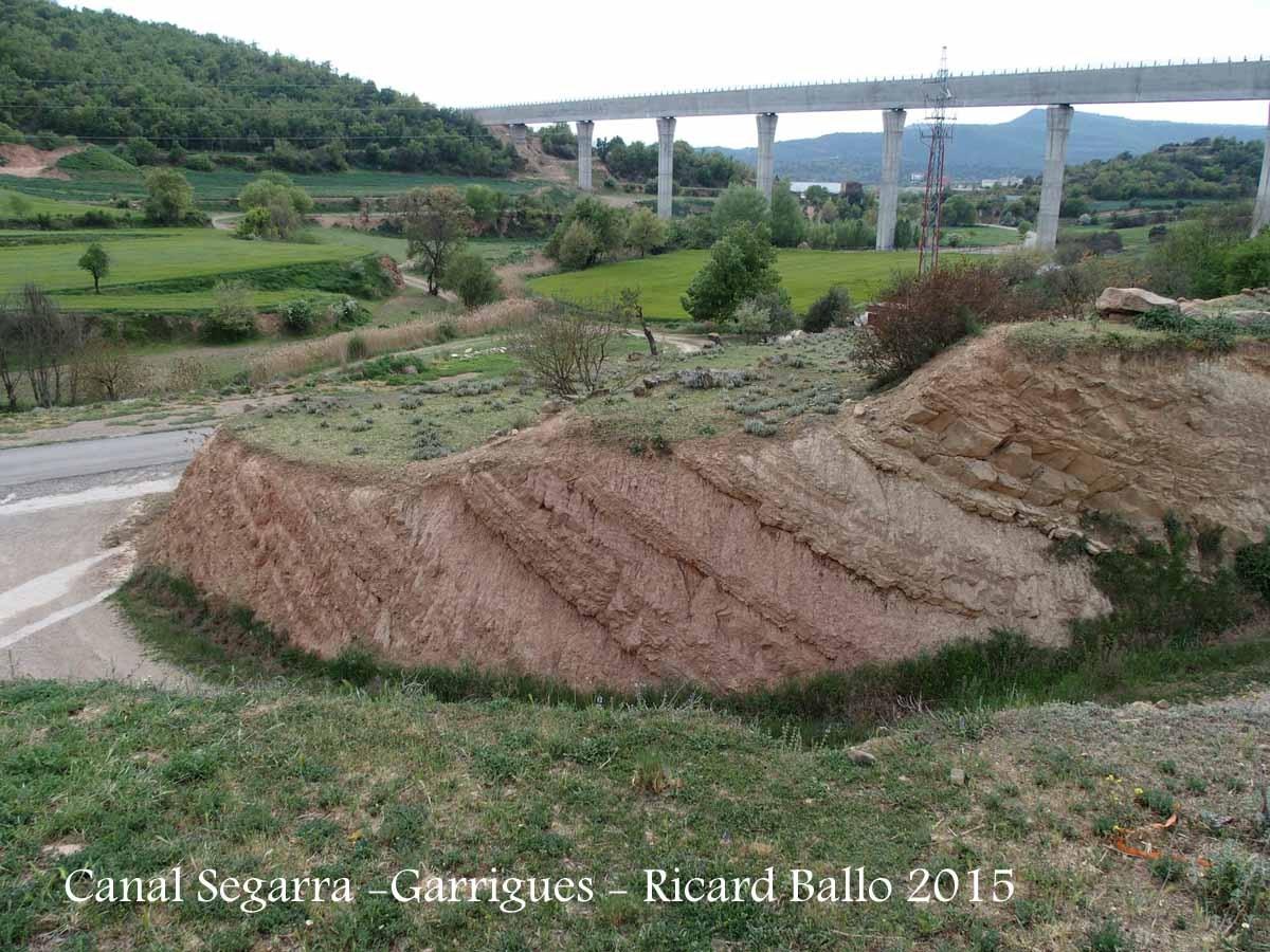 El canal Segarra Garrigues, vist des de la Torre de Valldans – Ponts