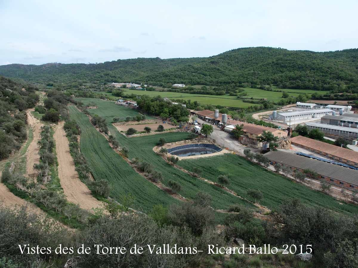 Vistes des de la Torre de Valldans – Ponts