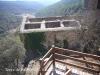 Torre de Vallferosa - Torà - Vista de l'església de Sant Pere des de les escales d'accés a la torre de Vallferosa.