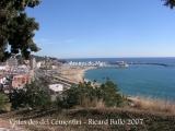 Vistes des del Cementiri d'Arenys de Mar.