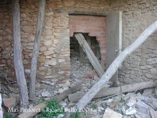 Torre del Mas Pastoret - Interior del mas.