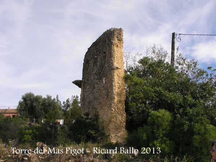 Torre del Mas Pigot – Castellet i La Gornal