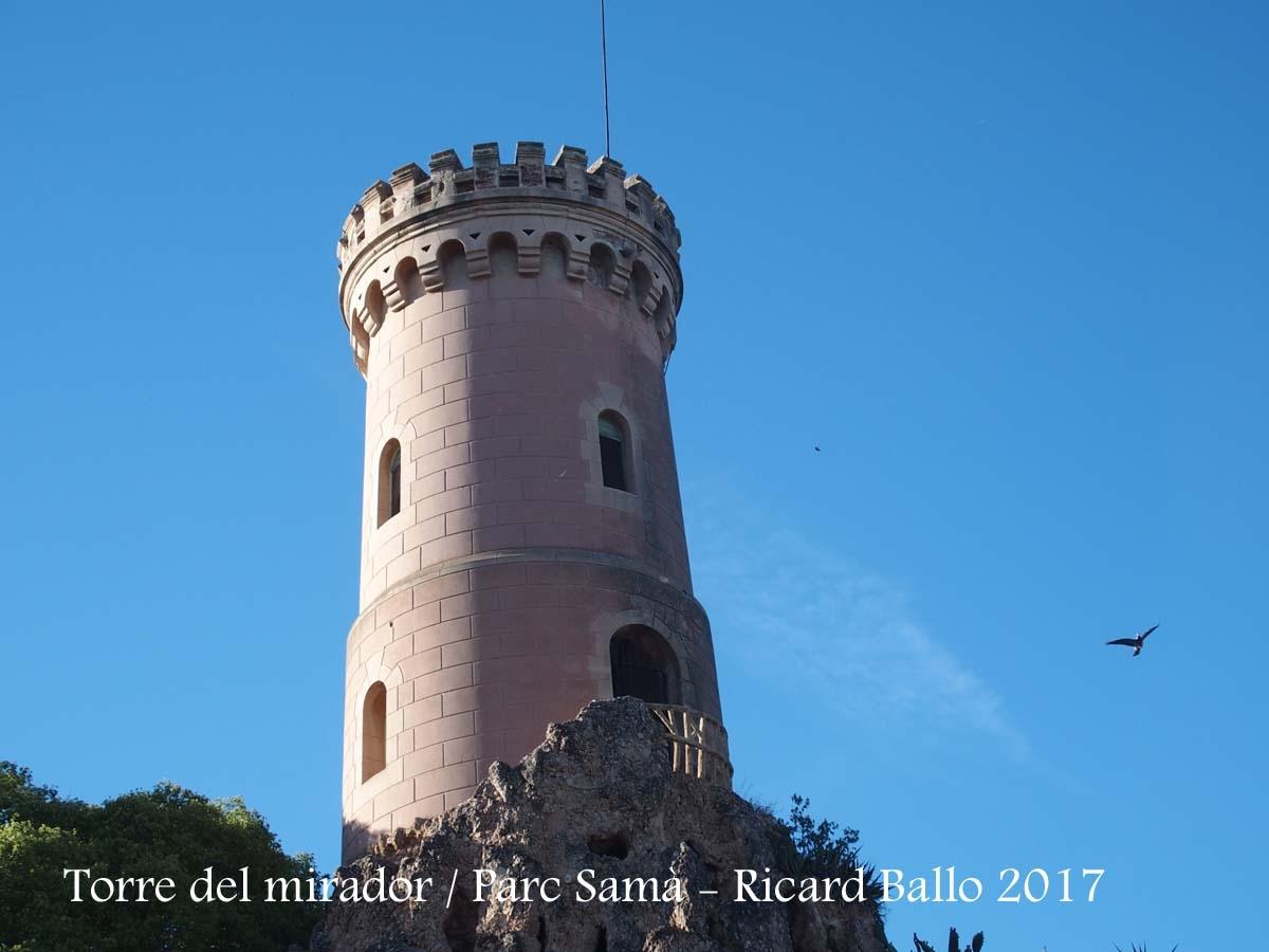 Torre del mirador - Parc Samà