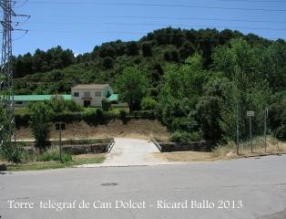 Itinerari per anar a la Torre del telègraf de Can Dolcet - Travessem el pont (1).