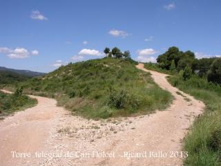Itinerari per anar a la Torre del telègraf de Can Dolcet - Desviació (4).