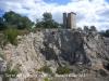 Torre del Telègraf de l'Ordal - miraculosament salvada de les urpes de les excavadores.