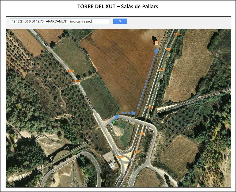 torre-del-xut-google-maps-aparcament-i-inici-cami-a-peu