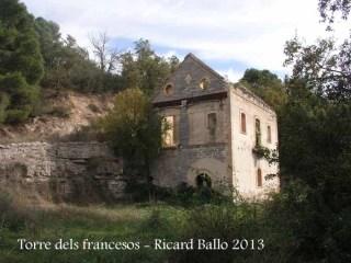 Ruta a la torre dels francesos - casa abandonada.