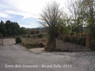 Rubinat - Inici de la ruta a la Torre dels francesos.