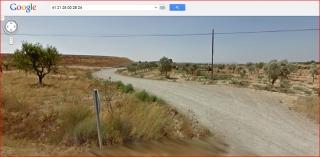 Torre d'Escarrega - Itinerari - Captura de pantalla de Google Maps.