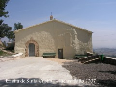 Ermita de Santa Cristina.