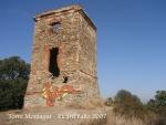 Torre Montagut - Santa Susanna.