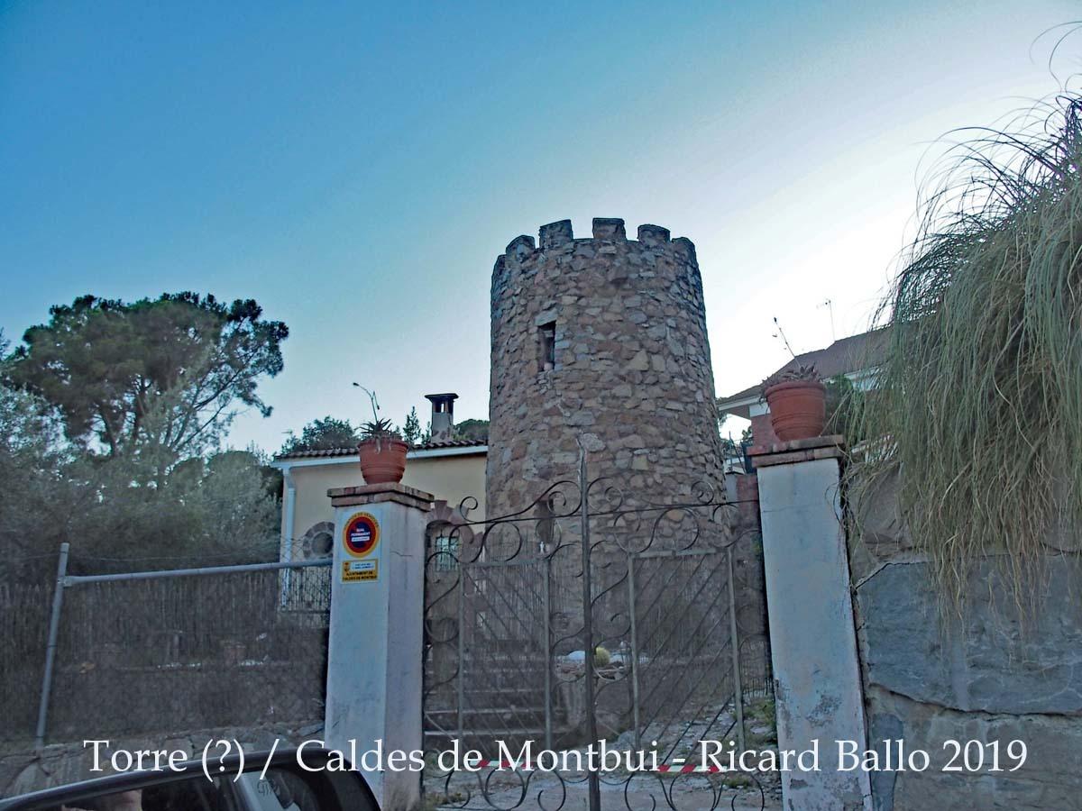 Torre sense identificar Caldes-de-Montbui