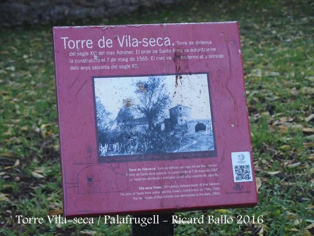 Torre Vila-seca – Palafrugell