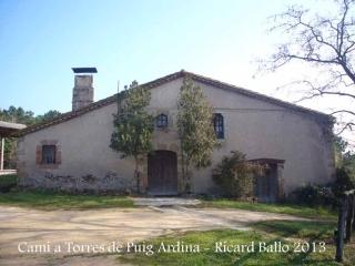 Torres de Puig Ardina – Riudarenes - Mas.