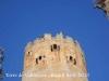 Torre de Vallferosa - Torà - Un anònim visitant, a la terrassa de la torre.
