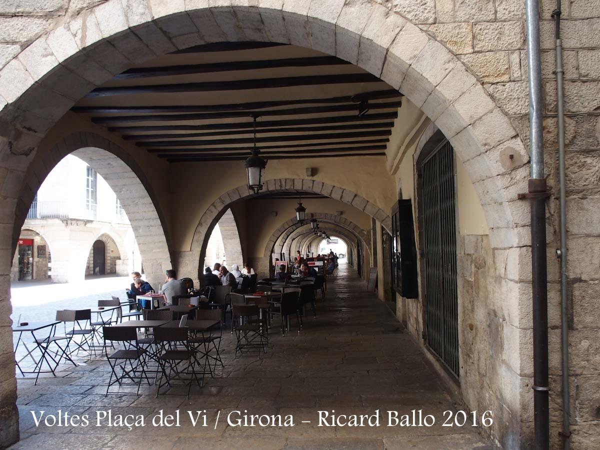 Voltes de la Plaça del Vi – Girona